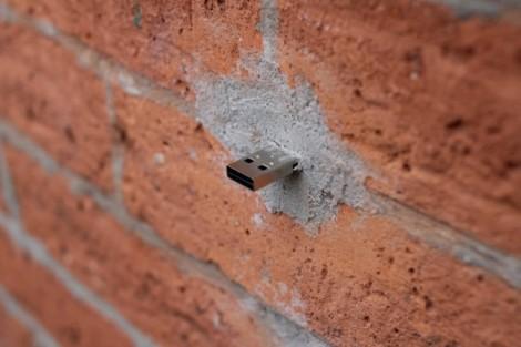 USB plug in the wall
